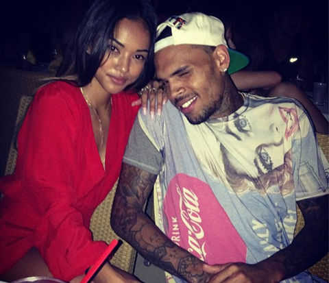 Karrueche Calls Out Chris Brown On Twitter, Says He Is Not Her Man