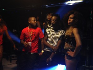 BTS Photos Of Dammy Krane ft. Davido – 'Incase Of Incasity' Video