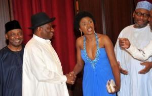 Celebitchy — Etcetera Takes Shots At Omoni Oboli: 'The Blue Dress'