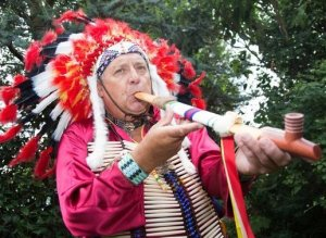British Man Quits Job To Pursue Dream Of Becoming Native American