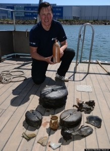 200-Year-Old Bottle Found In Shipwreck Contains 'Drinkable' Booze