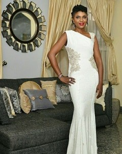 See Omoni Oboli's Dress To The Premiere Of Her Movie – 'Being Mrs Elliot'