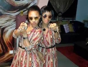 Tonto Dikeh Fires Back With More Photos Of Onyinye 'Her Maid' and Herself