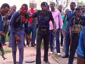 Kidnappers Beaten to A Pulp by Angry Mob In Calabar