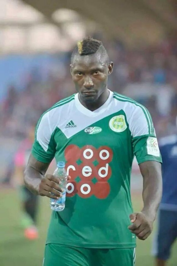 Albert Ebosse Died During an Algeria League Game after Been Hit With a Missile on the Head.