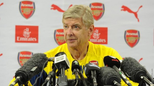 Arsene Wenger Says a Win Over Man City Could Restore Confidence aT Arsenal. Image: Twitter @Arsenal