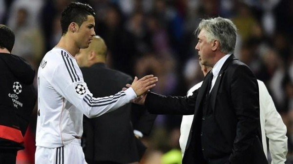 Carlo Ancelotti Says Cristiano Ronaldo is the Best Player He has Ever Worked With. Image: Getty.