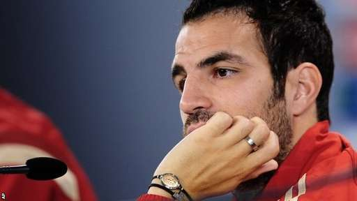 Cesc Fabregas Committed to Chelsea But Infatuated By Arsenal.