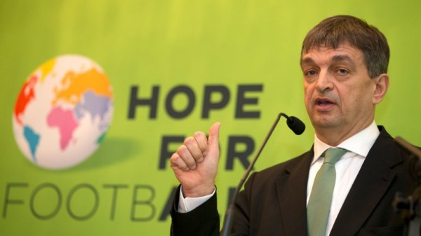 Jerome Champagne to Run for Fifa President in 2015.