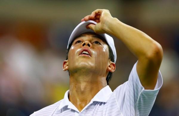 Kei Nishikori is the First Asian Man into a Grand Slam Final After His Semi-Final Win Over Novak Djokovic. Image: Getty.