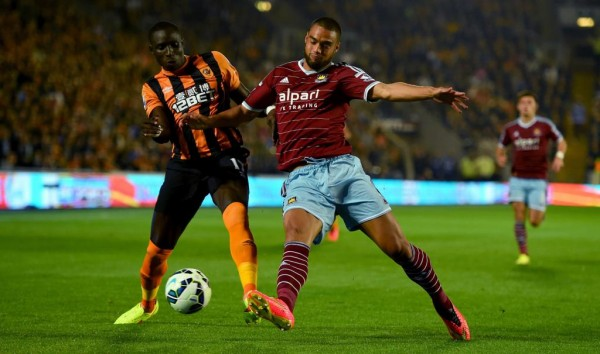 Mo Diame Scored on in His Hull City Debut at Home to His Former Club West Ham. Image: Getty