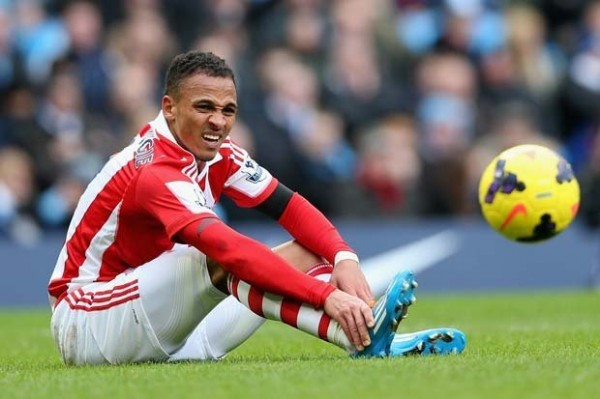 Osaze Odemwingie is Set to Be Sidelined for a Long Time After Injuring His ACL. Getty Image.