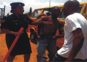 """Fear Of Ebola: Man Nearly Lynched For Singing """"Liberian Girl"""" In Lagos Market"""