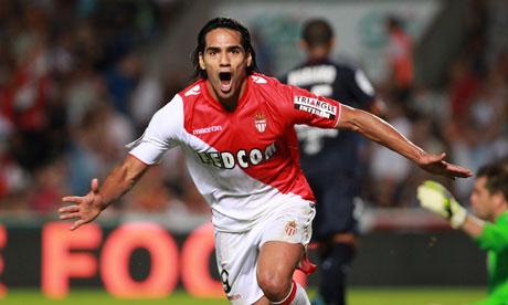 Radamel Falcao Joins Man United on a One-Year Loan.