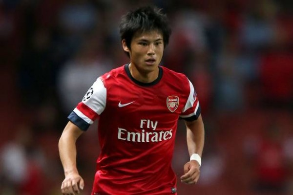 Ryo Miyaihi Has Only Made One League Appearance for Arsenal.