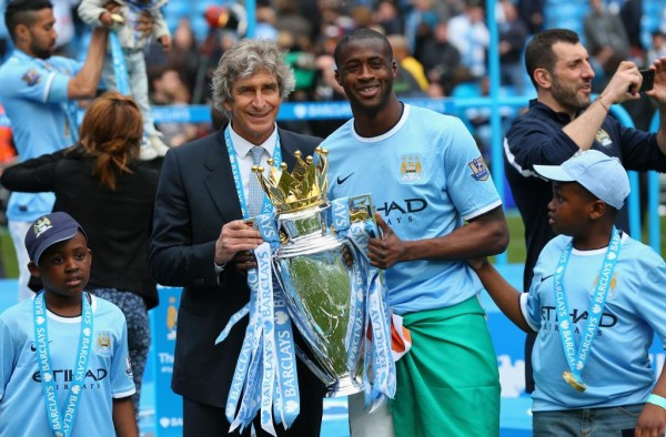 Manuel Pellegrini Believes Toure is Just Passing Through Difficult Times Following the Death of His Brother. Image: Getty.
