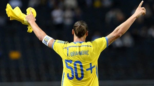 """""""50 Goals"""": Ibrahimovic Becomes Sweden's Goal King. Image: Getty"""