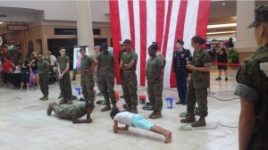 10-Year-Old Girl Defeats Army Cadet at Push-ups