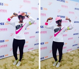 Genevieve Nnaji Joins Walk Against Cancer