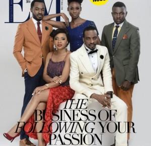 9ice, OC Ukeje, Isi Atagamen, Linda Ejiofor and Ifan Michael Dazzle On Cover Exquisite Magazine's New Issue