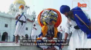 This Man's Record-Setting Turban Weighs More Than A Child