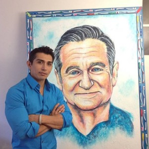 Meet Mexican Artist Who Paints with Toothpaste