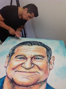 Minty Fresh Art – Artist Paints with Toothpaste