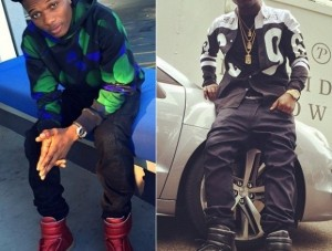 Davido and Wizkid Flaunt Their Clothing Gear