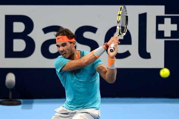 rafael Nadal has Withdrawn from the Swiss Indoor Championship After Reaching the Quarter Finals. Image: FABRICE COFFRINI/AFP/Getty