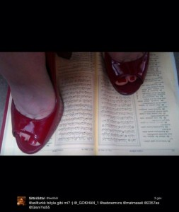 Woman Arrested For Tweet Showing Red Stilettos On The Quran
