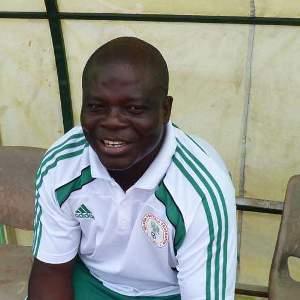 Super Falcons Coach Edwin Okon.