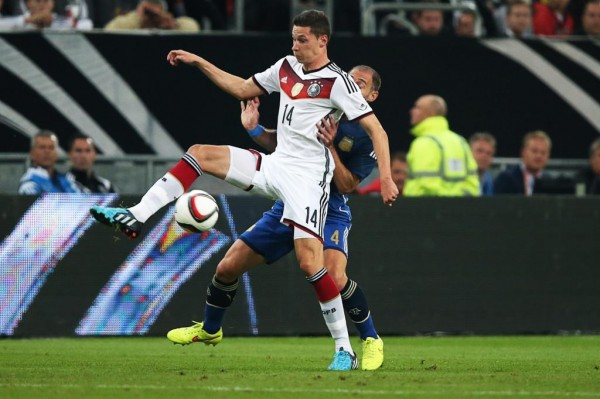 Julian Draxler During the 2014 Fifa World Cup. Image: Getty.