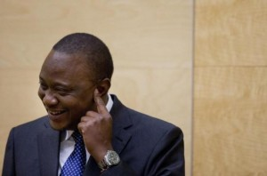 Crowds Cheer Uhuru Kenyatta On Return From ICC