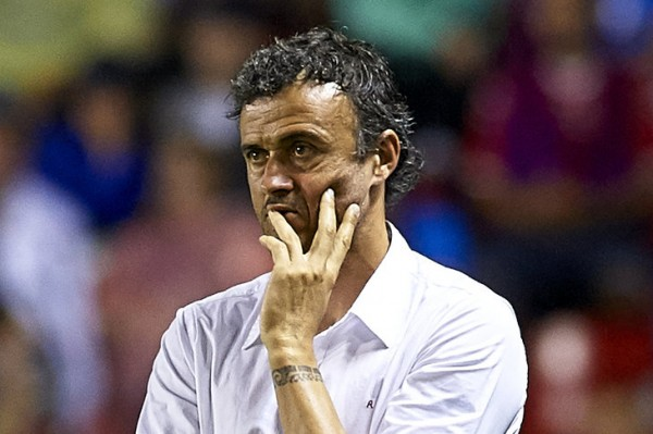 Luis Enrique Says Barca are Improving: Image: Manuel Queimadelos Alonso/Getty Images