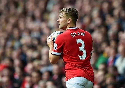 Luke Shaw Sees The United Fear Factor Returning Again. Image: Man Utd via Getty.