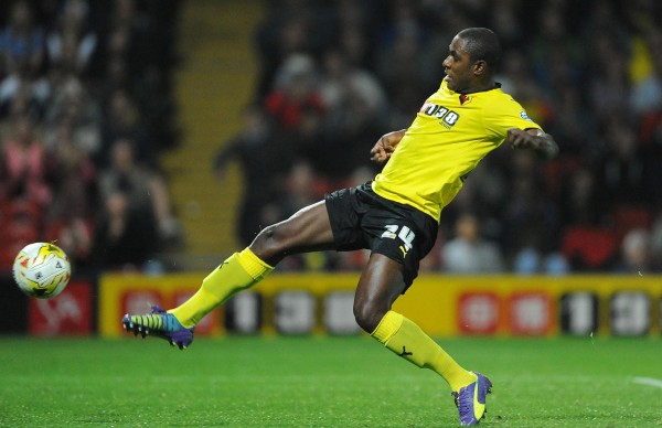 Odion Ighalo Signs Two-and-a-Half-Year Deal With Watford. Image: Getty.
