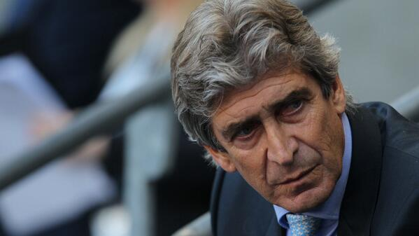 Manuel Pellegrini Worried About City's Poor Run of Form. Image: Getty.