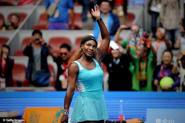 Serena Williams Beat Lucie Safarova to Reach the Quarter-Finals of the 2014 China Open. Image: Getty.