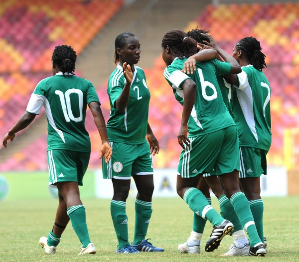 Super Falcons Beat Zambia 6-0 to Keep Sight on Progress to AWC Semi-finals.
