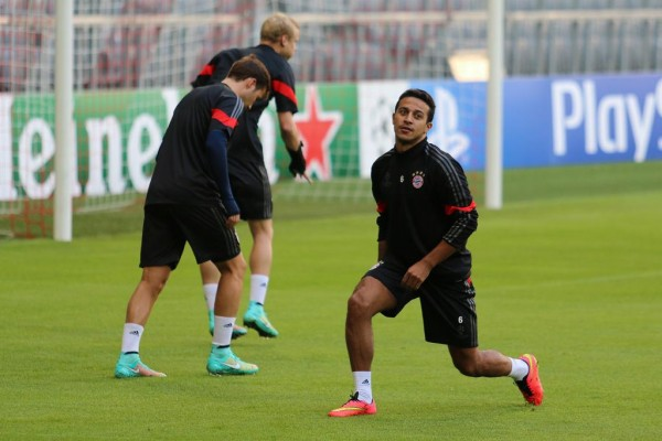 Thiago Alcantara Out for Further Six Months. Image: Bayern FC.