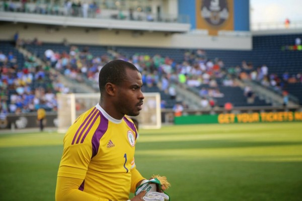 Vincent Enyeama Apologises to Nigerians After Khartoum Disappointment.