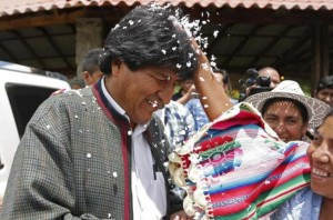 Bolivian President Expected To Win Third Term As Voters Head To Polling Booths
