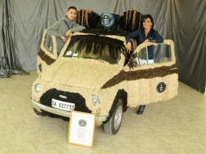 Hairstylist Sets World Record After Spending over 150 Hours Covering Her Car in Human Hair, Sets World Record