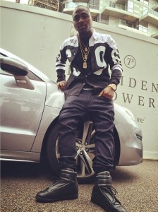 Top Secret: Davido In South Africa For BBA Hotshots