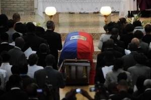 Hundreds Attend Funeral Of Former Haiti President