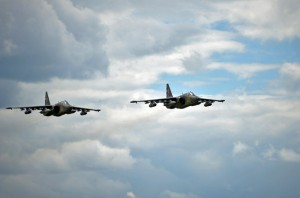 NATO reports high spike in Russian jets activity over the past two days