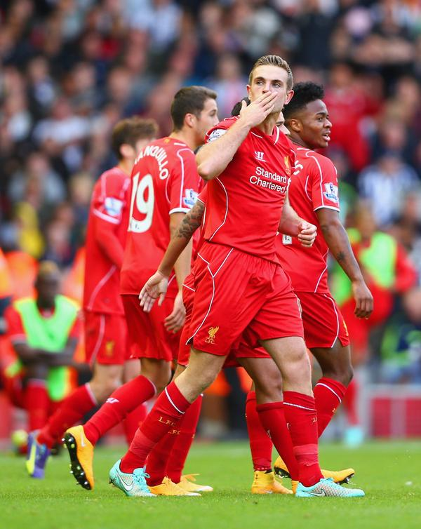 Henderson scored the winner to hand all three points for Liverpool