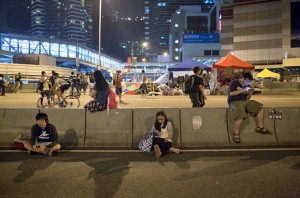As Numbers Of Demonstrators Dwindle, Hong Kong Activists Agree To Talks
