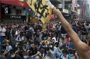 Protesters In Hong Kong Claim Your Grounds In The City