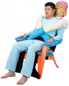 Company Creates Creepy Hugging Chair for the Lonely.